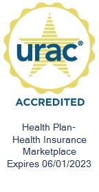URAC Accredited Health Plan with Health Insurance Marketplace